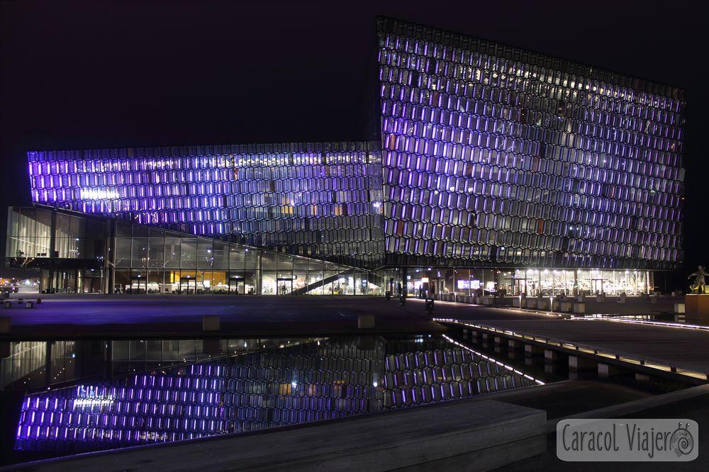 Sala de conciertos en Islandia