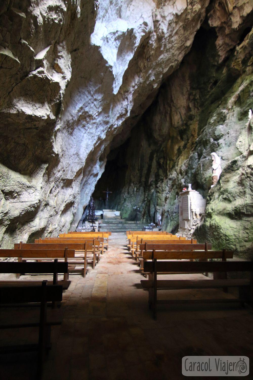 ermita de Saint Antoine Galamus, Francia