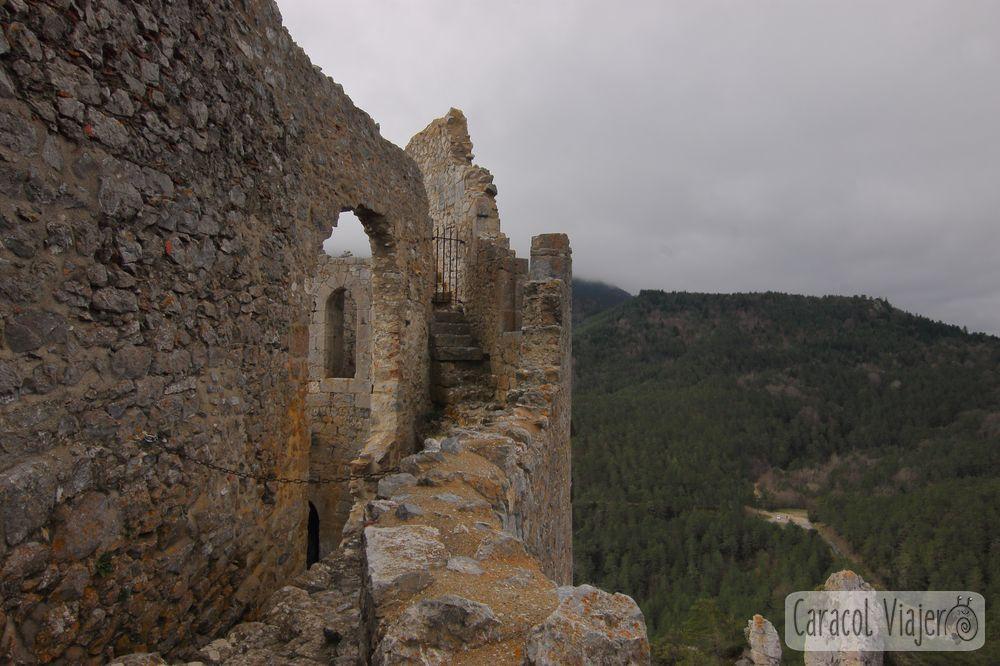 Castillo de Puilaurens interior