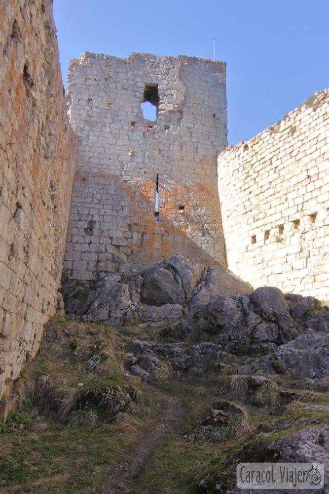 Montségur ruta de los cátaros