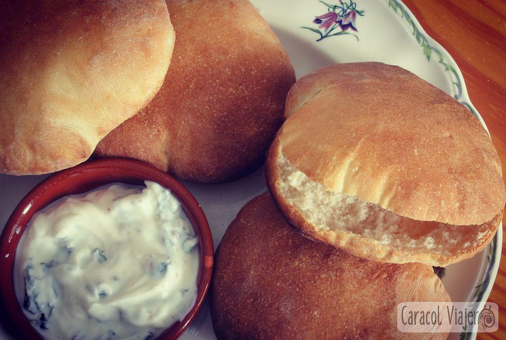 Pan de pita receta libanesa