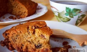 Tarta de melaza al estilo tradicional galés