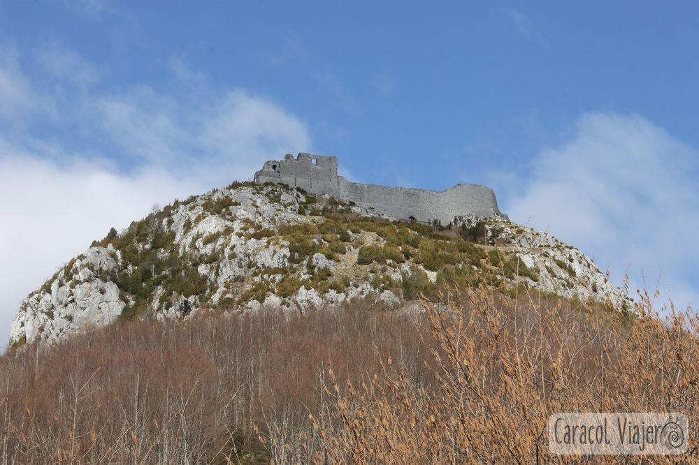 Visitar el castillo de Montségur: