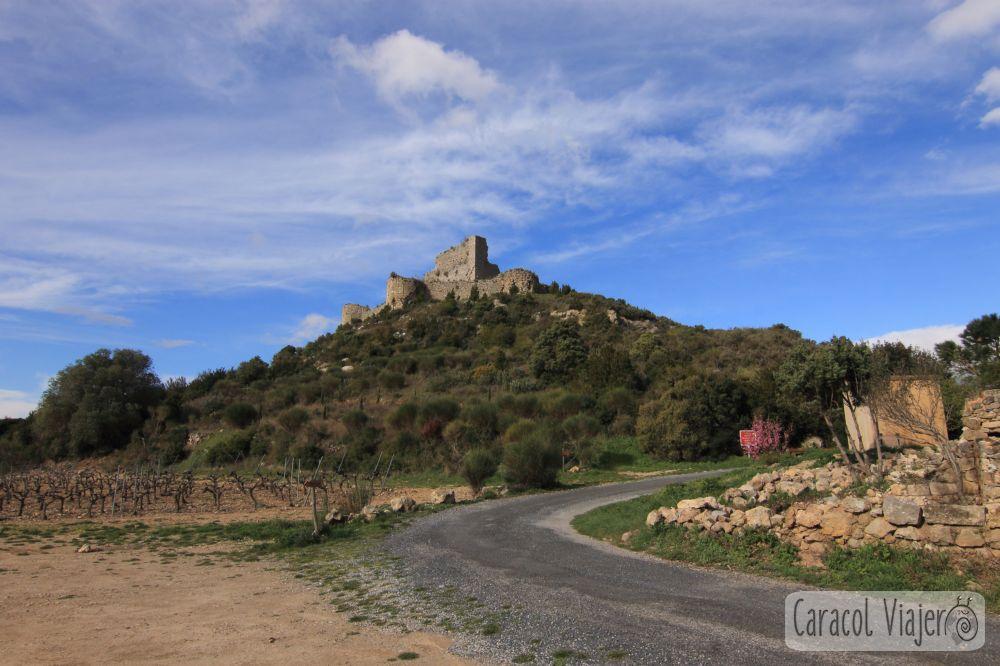 Castillo de Aguilar, Francia