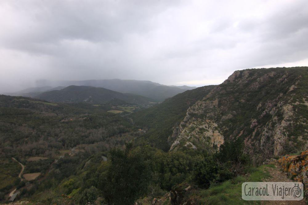 Vistas desde el castillo de Termes