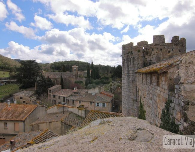 Abadía de Fontfroide   Castillos de Aguilar, Termes