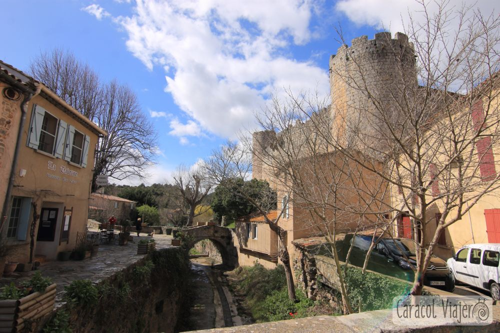 Villerouge Termenès pueblo y castillo