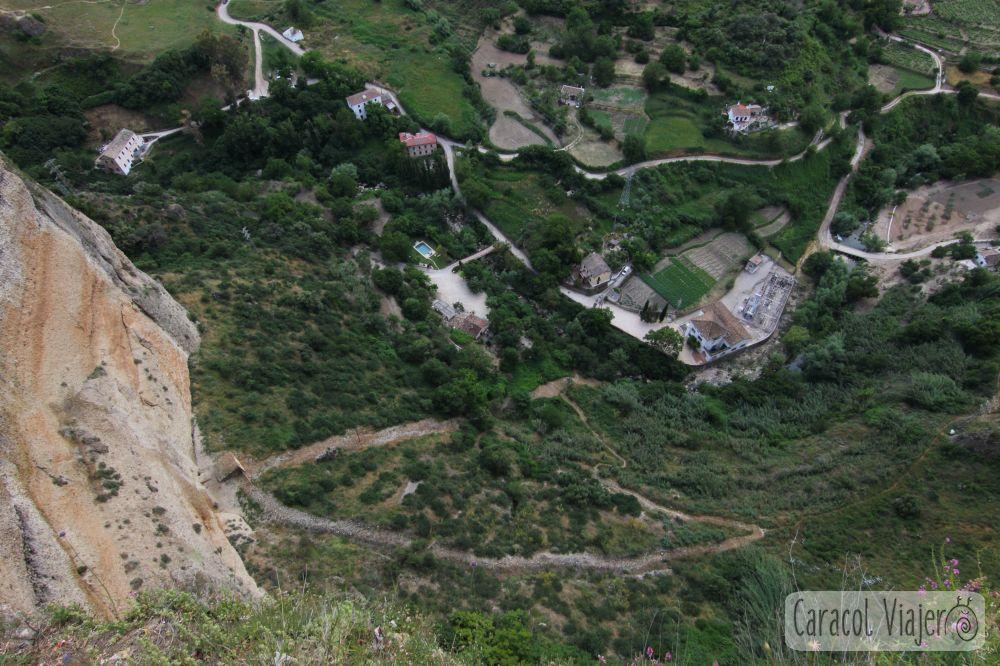 Balcón del coño vistas Ronda