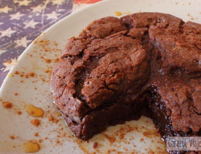 ¡Receta del pastel de chocolate de Estados Unidos!