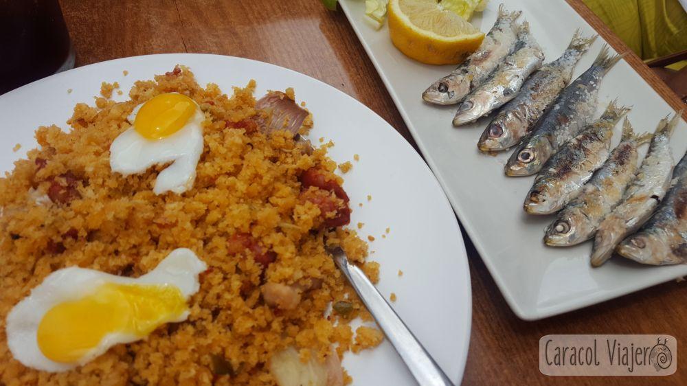 Gastronomía en Ronda