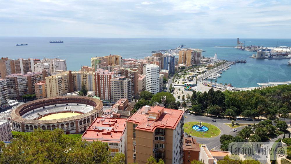 Paseo marítimo de Málaga