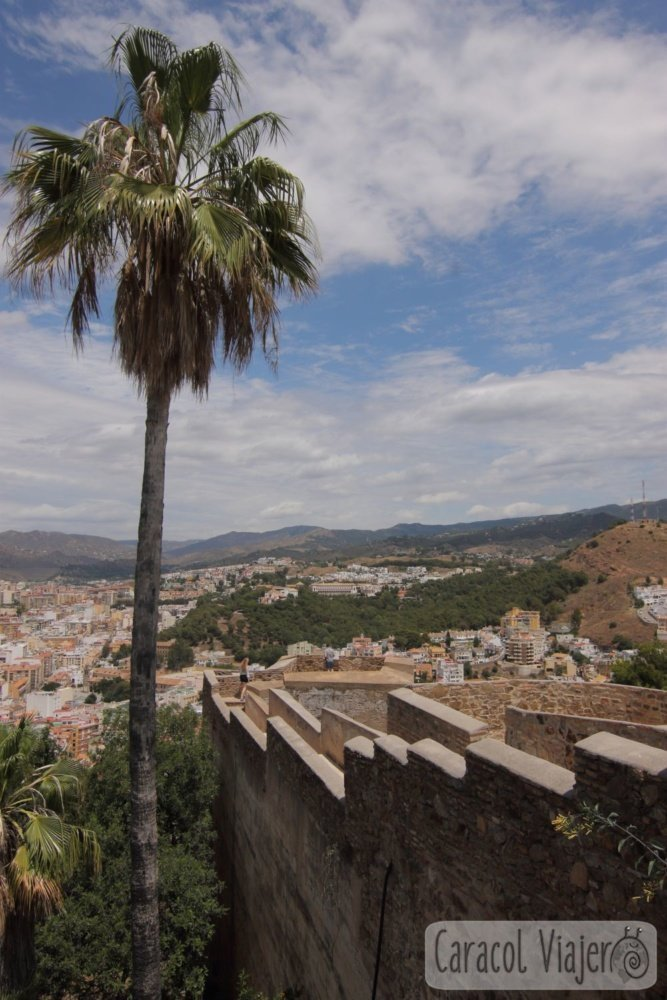 Málaga vistas Gibralfaro