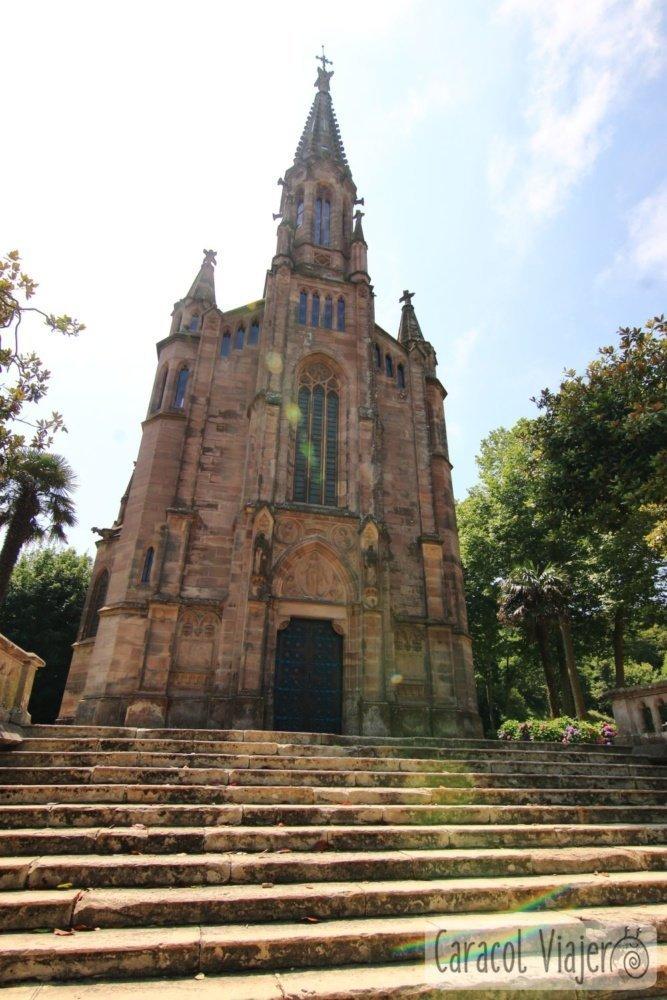 La capilla de Sobrellano en Comillas