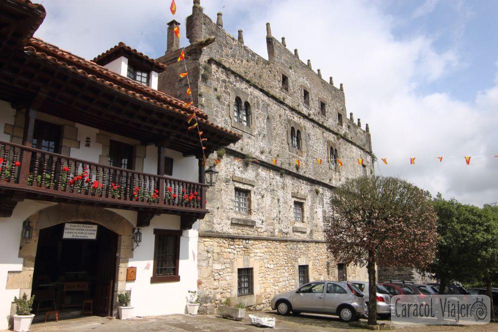 qué ver en Cantabria en 3 días - Palacio de Velarde en Santillana del Mar