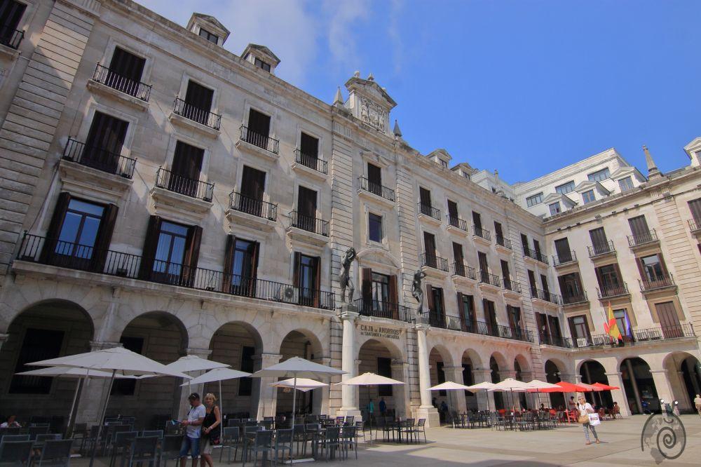 Plaza Pedro Velarde en Santander
