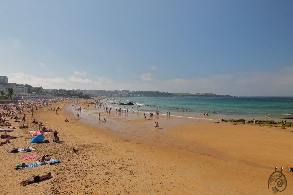 El Sardinero playa en Santander