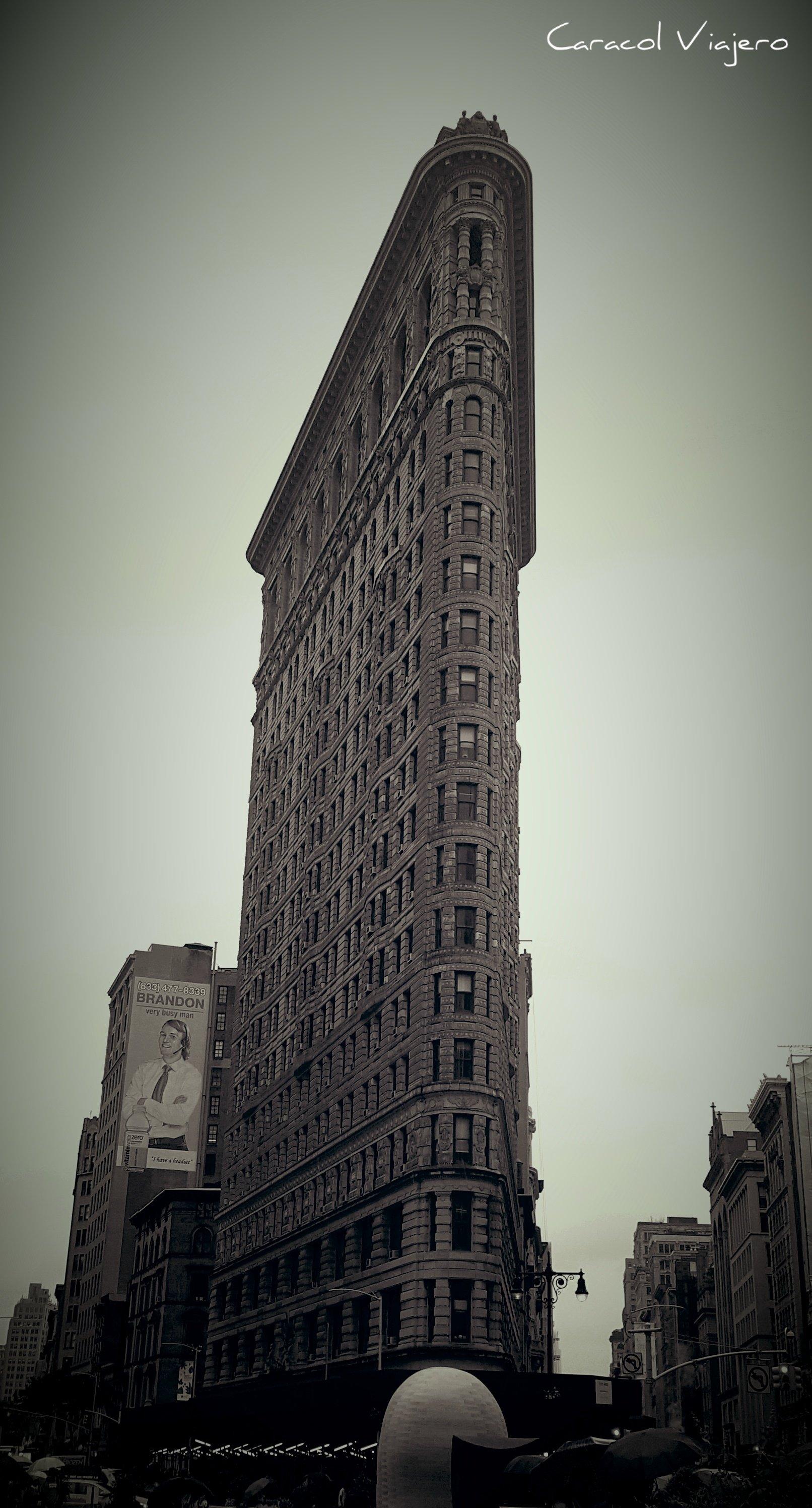 Flatiron edificio en Nueva York