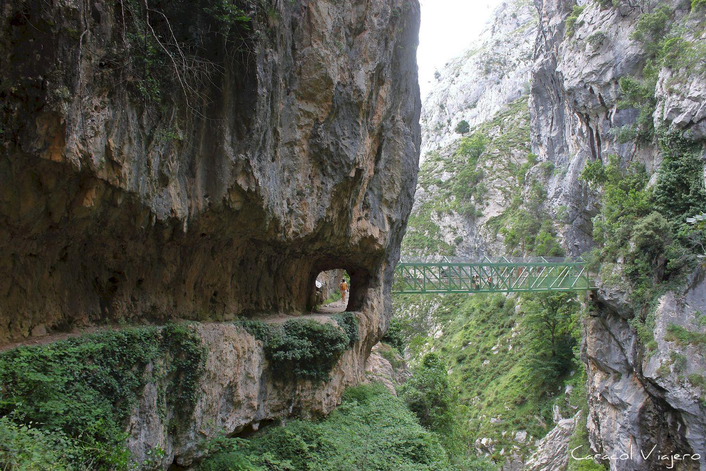 Río Cares - lugares imprescindible que ver en España