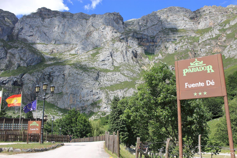 Cantabria mirador de Fuente Dé