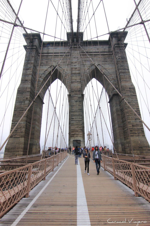 El famoso puente de Nueva York