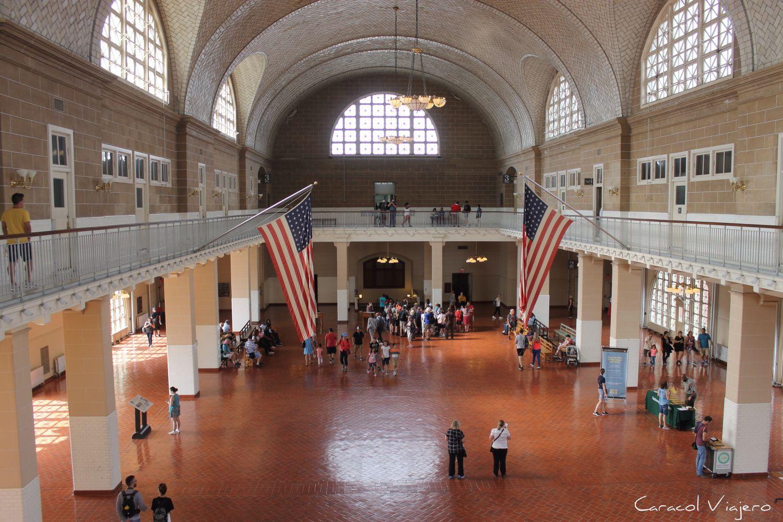 Ellis Island - museo Nueva York. Viajar a Estados Unidos