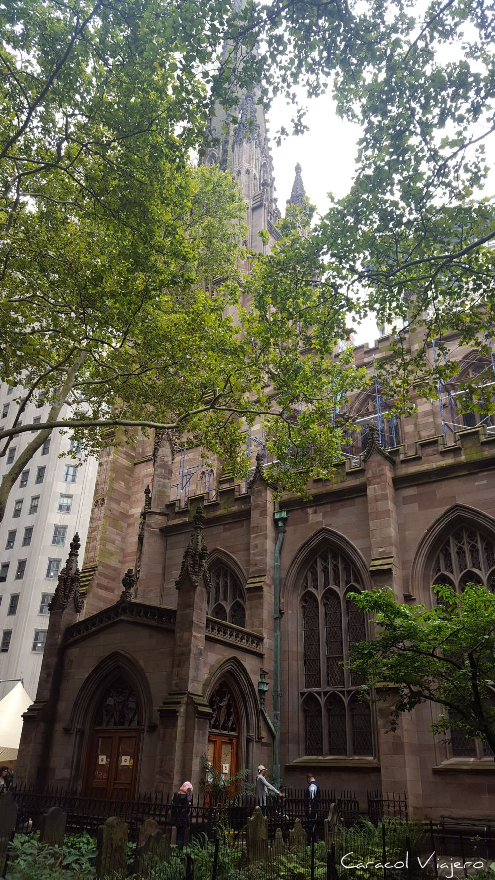Trinity Church en Nueva York, iglesia
