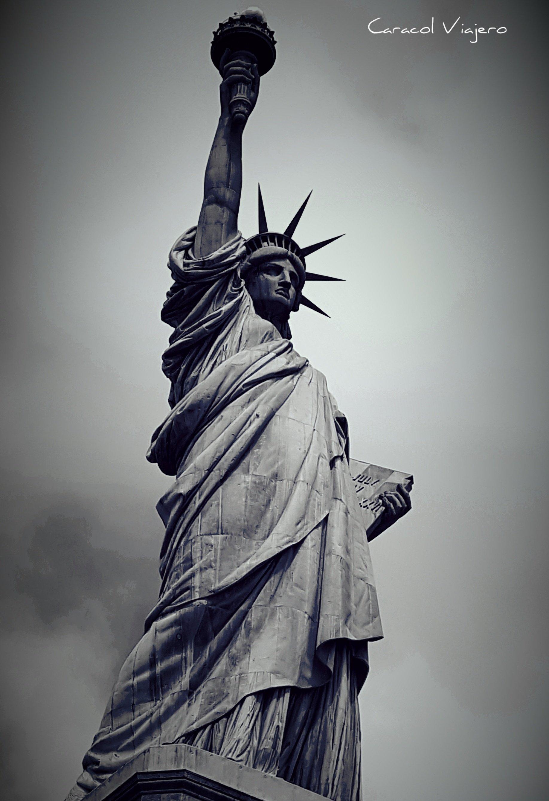 Estatua de la Libertad en Liberty island