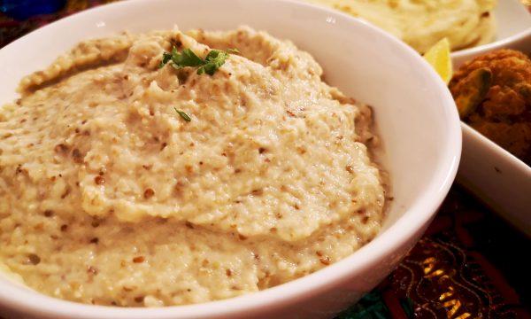 ¿Cómo preparar hummus de berenjena? Baba Ghanush