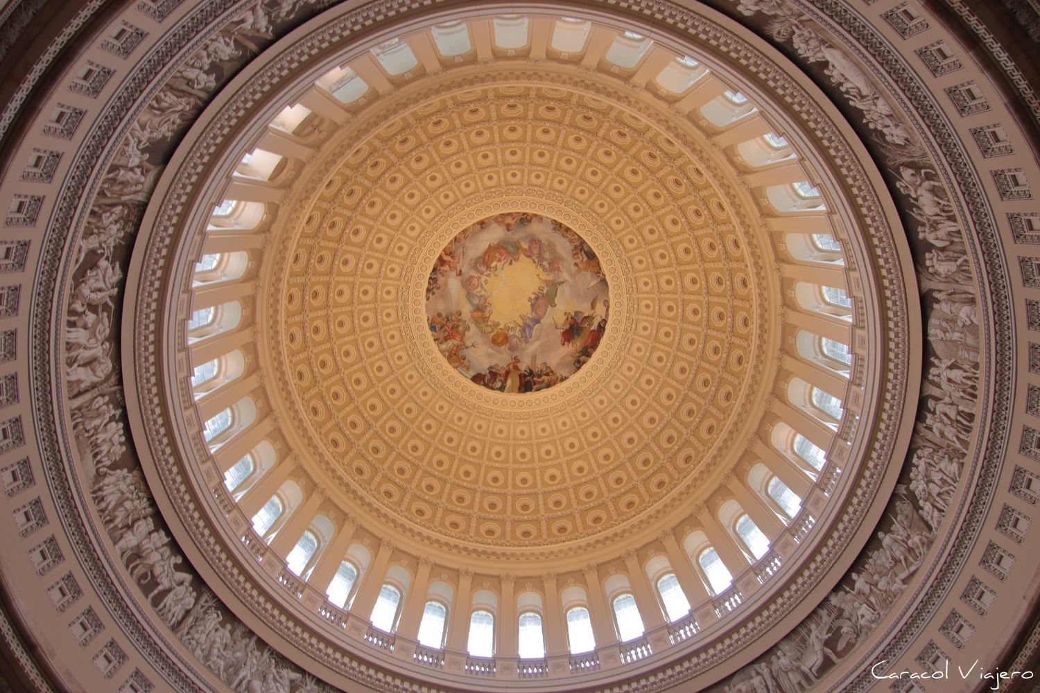 El capitolio de Washington D.C. interior