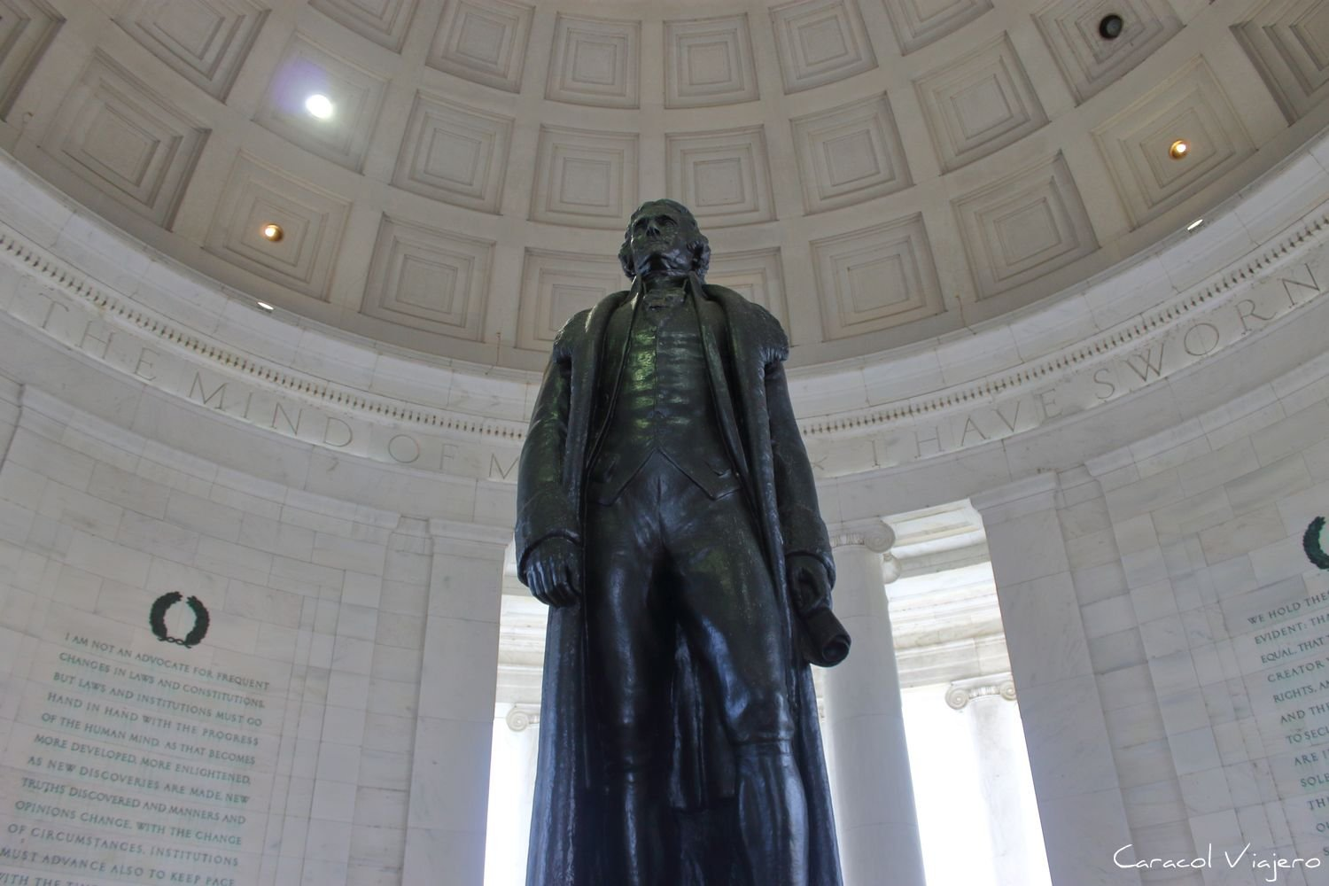 Memorial a Thomas Jefferson interior