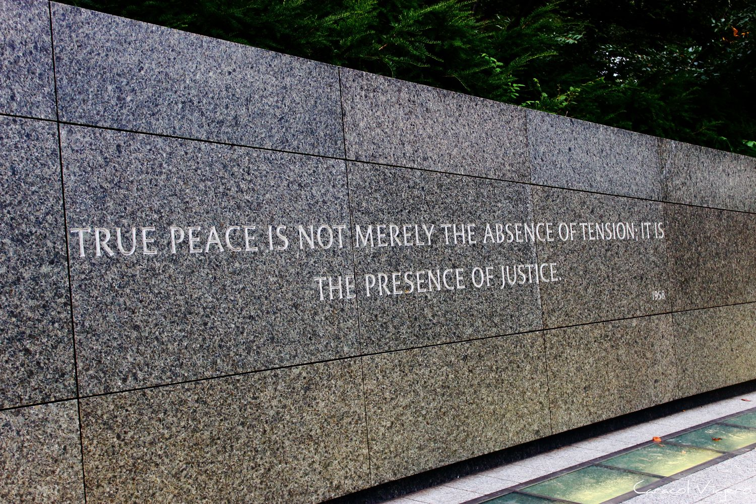 Memorial Washington Peace