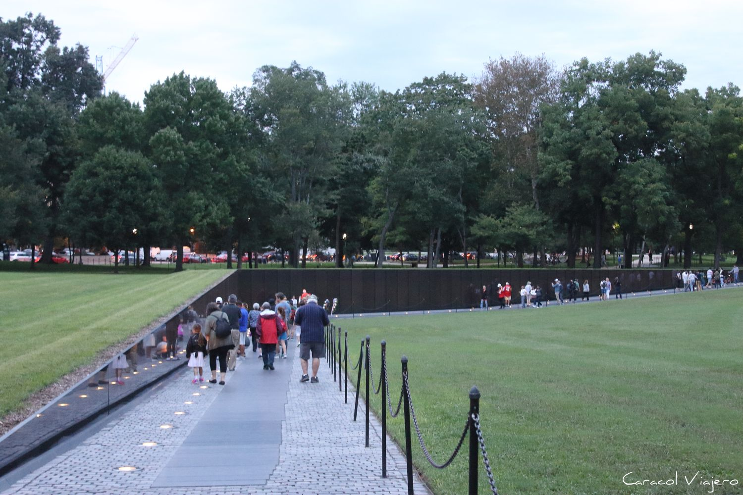 Vietnam memorial Washington D.C.