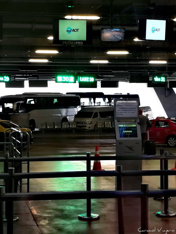 cmo llegar del aeropuerto de Bangkok al centro