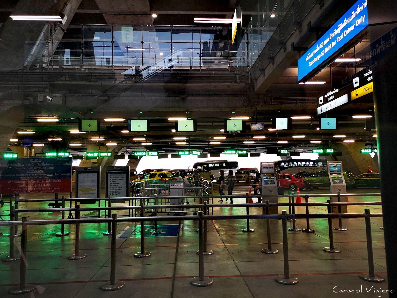 cómo llegar del aeropuerto de Bangkok al centro