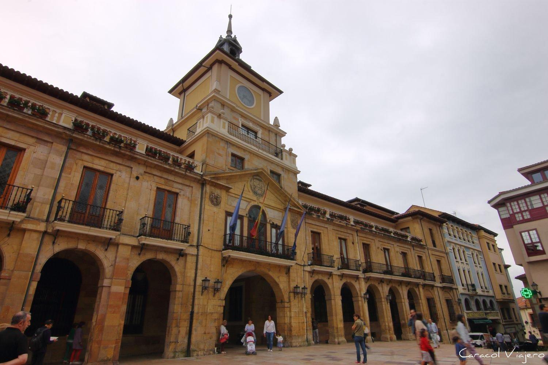 Edificio del ayuntamiento Oviedo
