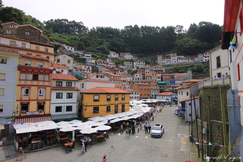 Cudillero pueblo costero Asturias