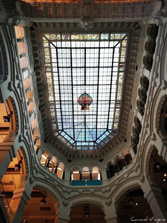 Techo ayuntamiento Madrid