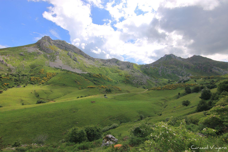 Somiedo Asturias Valle de Lago - Parque natural de Somiedo