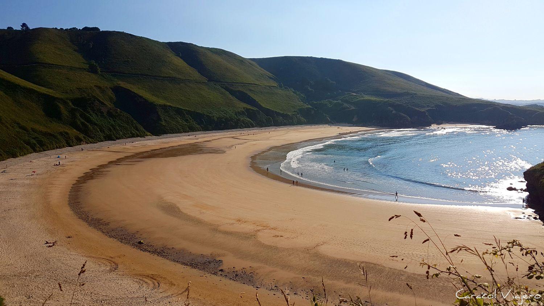 Torimbia playa asturiana - Pueblos costeros de Asturias