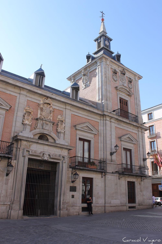 Antiguo ayuntamiento Madrid