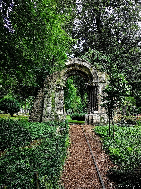 Arco en Asturias