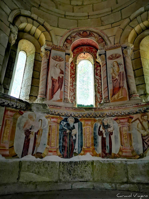 Frescos Monasterio Santa Cristina