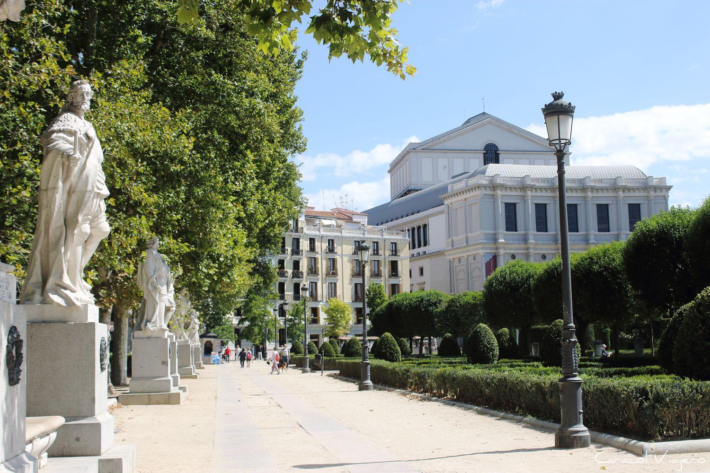 Plaza de Oriente - Madrid en 3 días