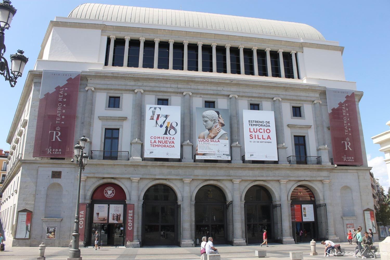 Ópera - Madrid en 3 días
