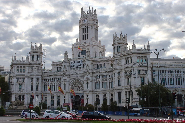 palacio Cibeles de Madrid