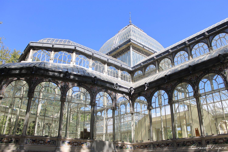 Palacio de Cristal Madrid Retiro