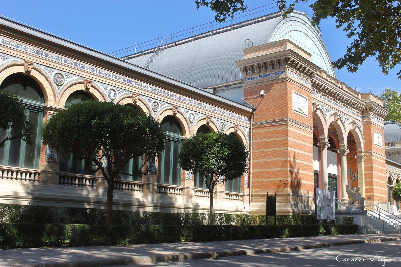 Palacio de Velazque Retiro Madrid