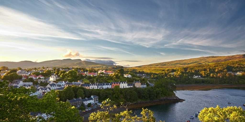 Portree que ver en Escocia