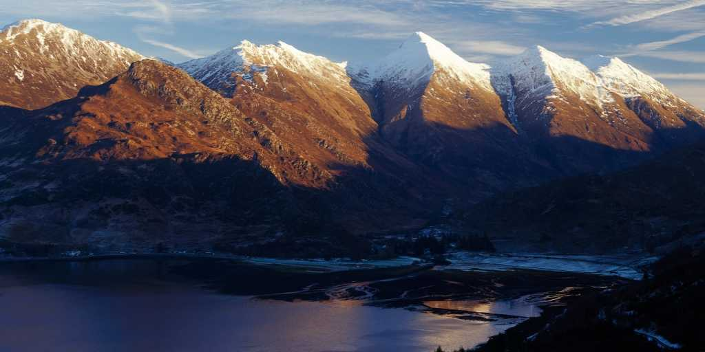 Cinco hermanas de Kintail Escocia