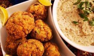 Albóndigas de pollo con pistachos | Cocina libanesa